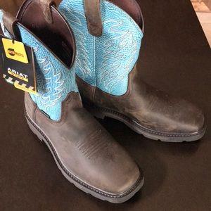 Men's, ARIAT work boot waterproof